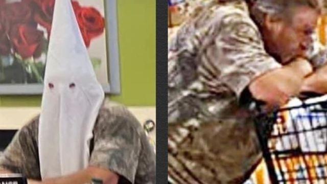 Hombre usa máscara del Ku Klux Klan para ir al súper en San Diego