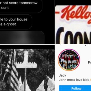 Detuvieron a un niño de 12 años por hacer insultos racistas, El niño insultó y amenazó a Wilfried Zaha, delantero del Crystal Palace