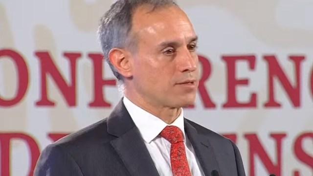 El subsecretario de Promoción y Prevención de la Salud, Hugo López-Gatell, afirmó que no hay evidencia que covid-19 se transmita vía sexual