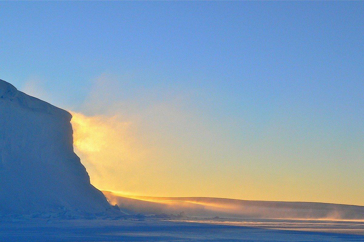 El Polo Sur se ha calentado tres veces más rápido que el resto del planeta, con un clima más cálido