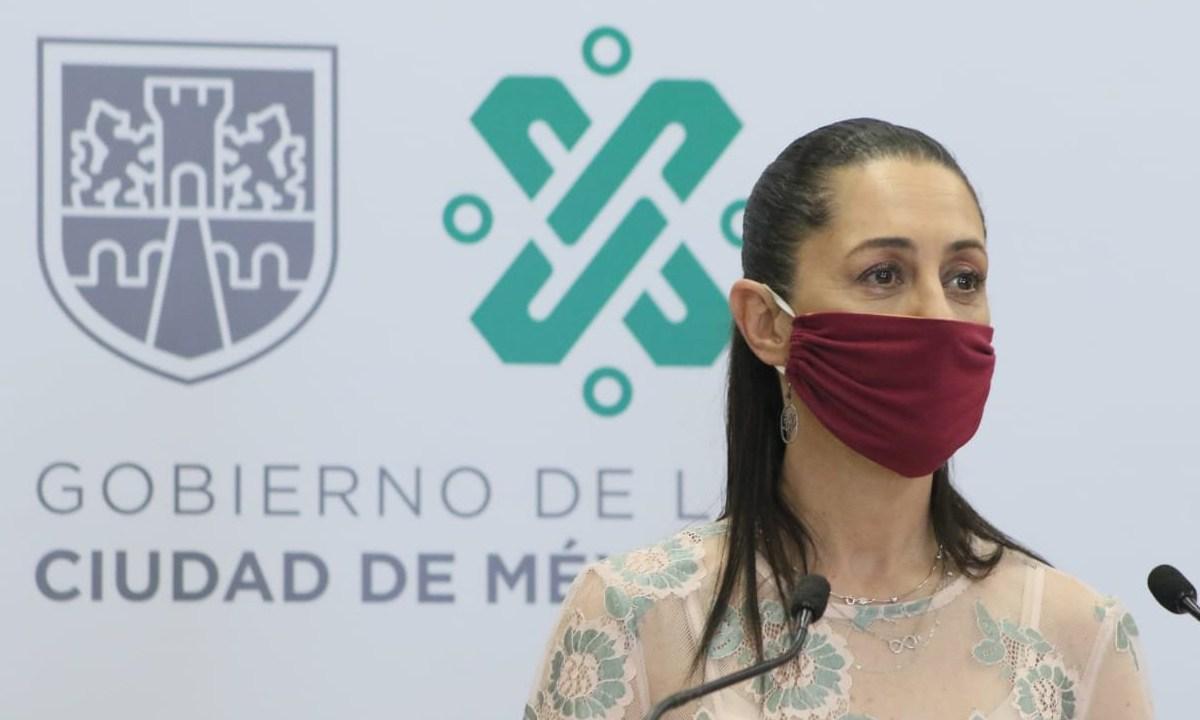 La jefa de gobierno, Claudia Sheinbaum desmintió que la CDMX vaya a pasar semáforo verde