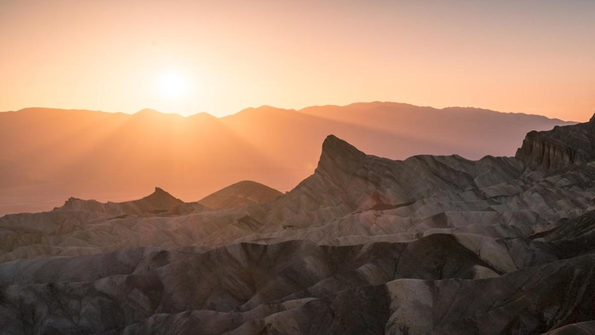 Se registran temperaturas a niveles históricos en Parque Nacional Death Valley, California