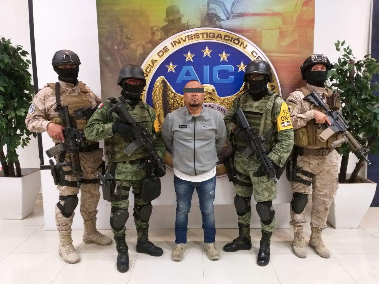 José Antonio Yépez Ortíz, alias El Marro, detenido