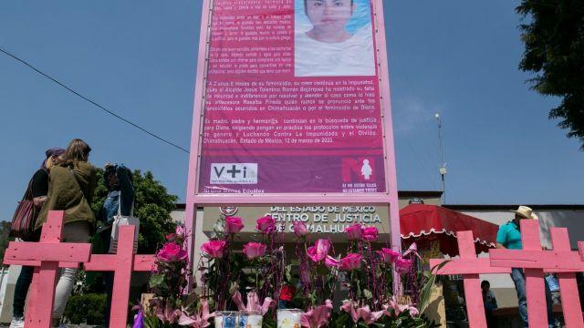 Feminicidios en el Estado de México. (Foto: Cuartoscuro)