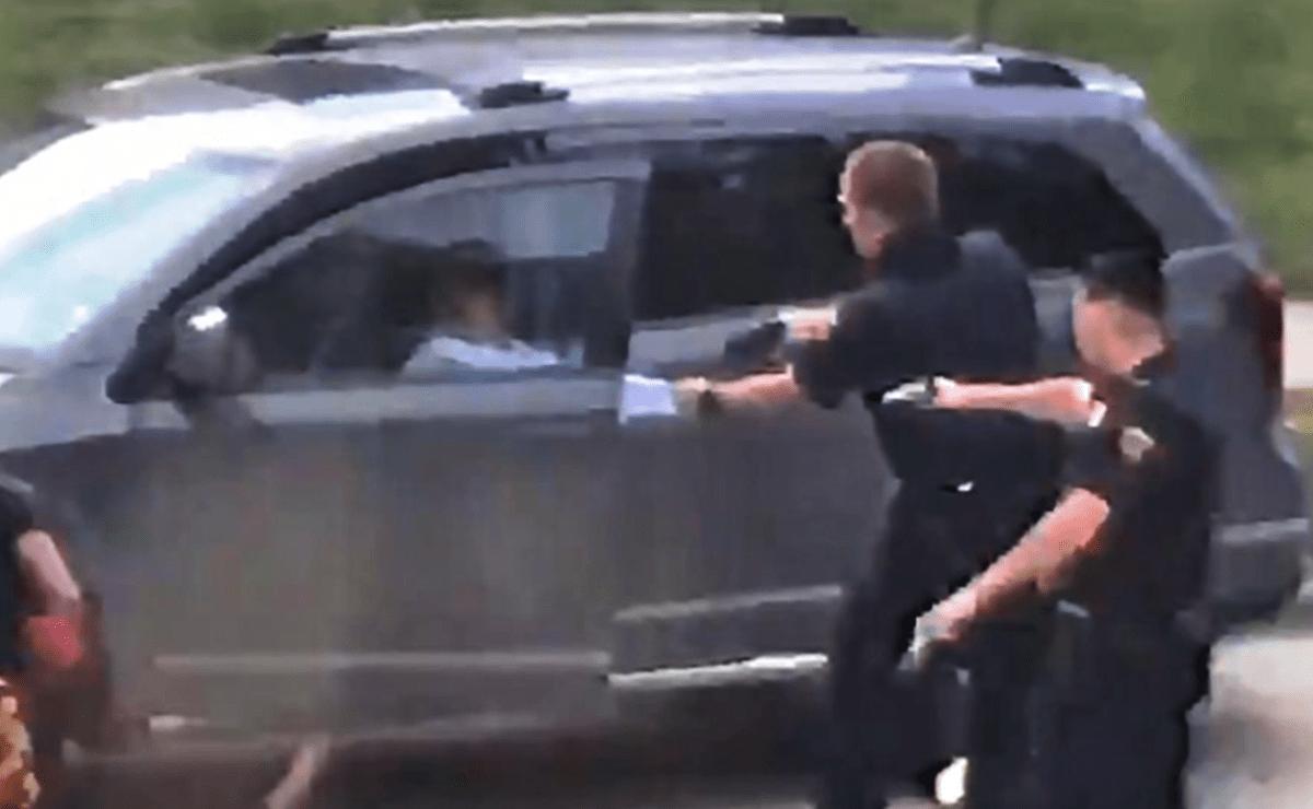Policía disparó 7 veces contra Jacob Blake, ciudadano afroamericano (Foto: LivingUS)