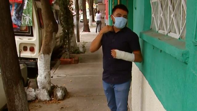 Captan brutalidad policiaca en video contra jóvenes en alcaldía Cuauhtémoc en la CDMX, Captura De Pantalla