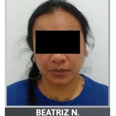 """Aprehenden Beatriz N, """"La Reina del Sur""""; permanecerá en prisión"""