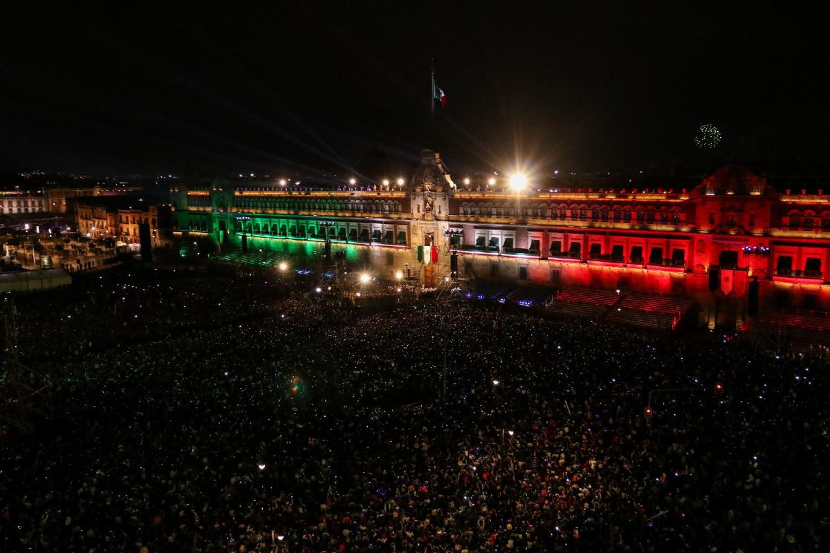 Sin público Grito de Independencia y Desfile Militar