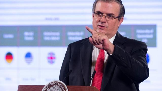 México tiene 4 proyectos de vacuna contra el COVID-19: Ebrard