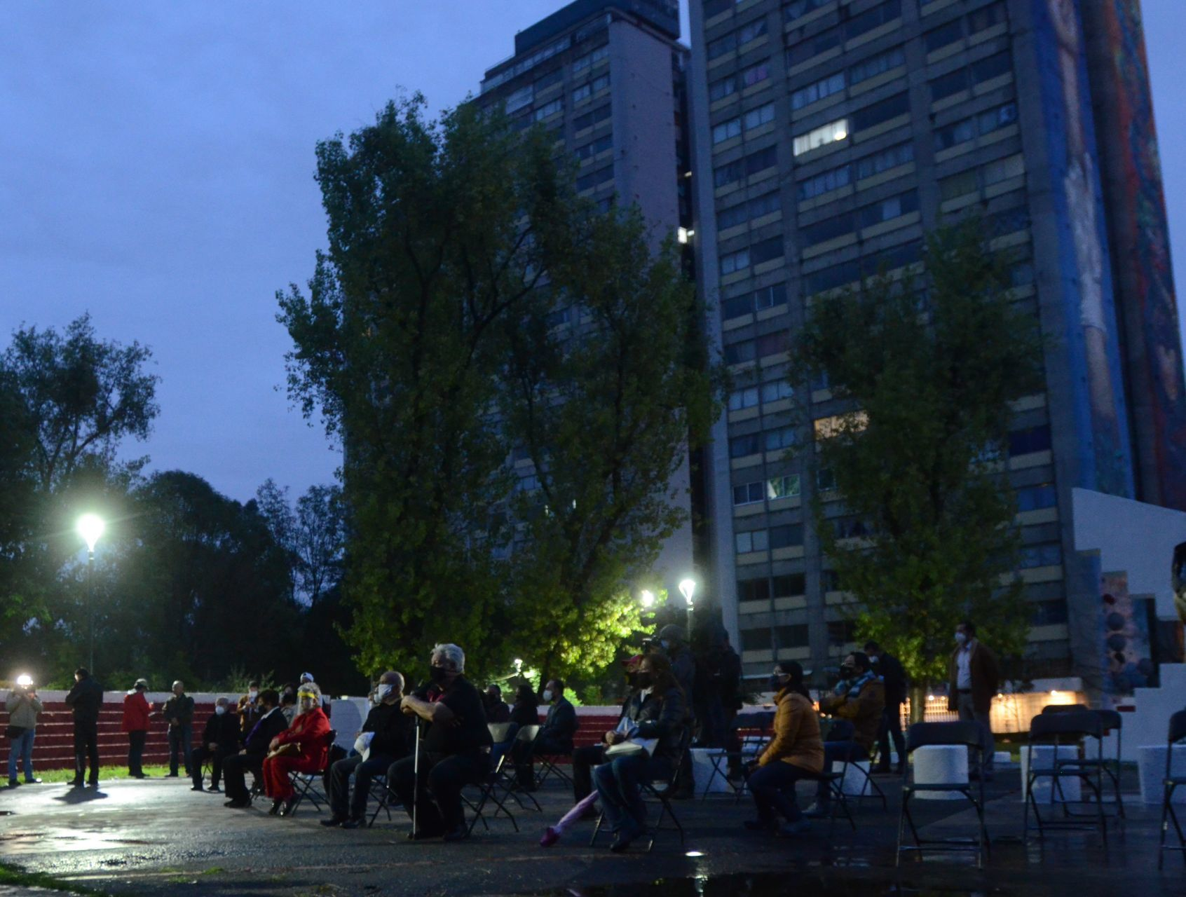Recuerdan a víctimas del sismo de 1985 en Tlatelolco