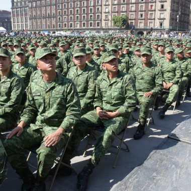 Fuerzas armadas y de seguridad recibirán 13% más presupuesto en 2021