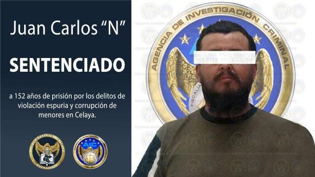 Un hombre fue condenado a 152 años de prisión en Celaya, Guanajuato por violar a dos niñas en una casa hogar