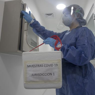 Coronavirus Laboratorio COVID-19