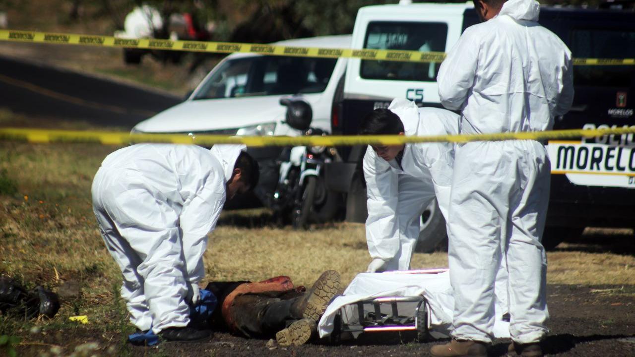 hallan cuerpos 6 personas muertas carretera San Luis Potosí