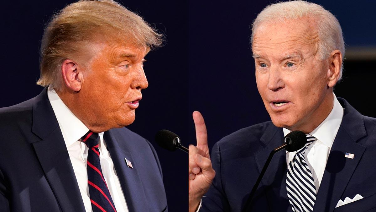 Medios de comunicación en Estados Unidos Trump Biden