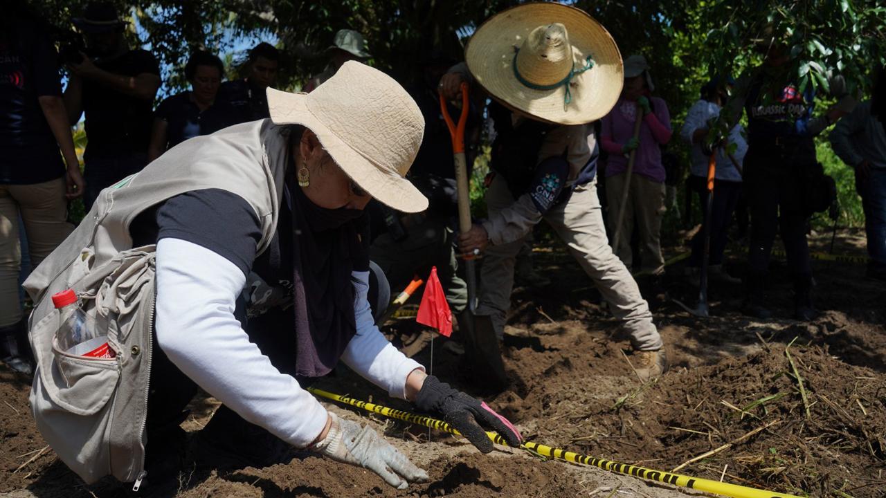 Alejandro Encinas, subsecretario de Derechos Humanos, informó cuáles son los estados con mayor número de fosas clandestinas en México
