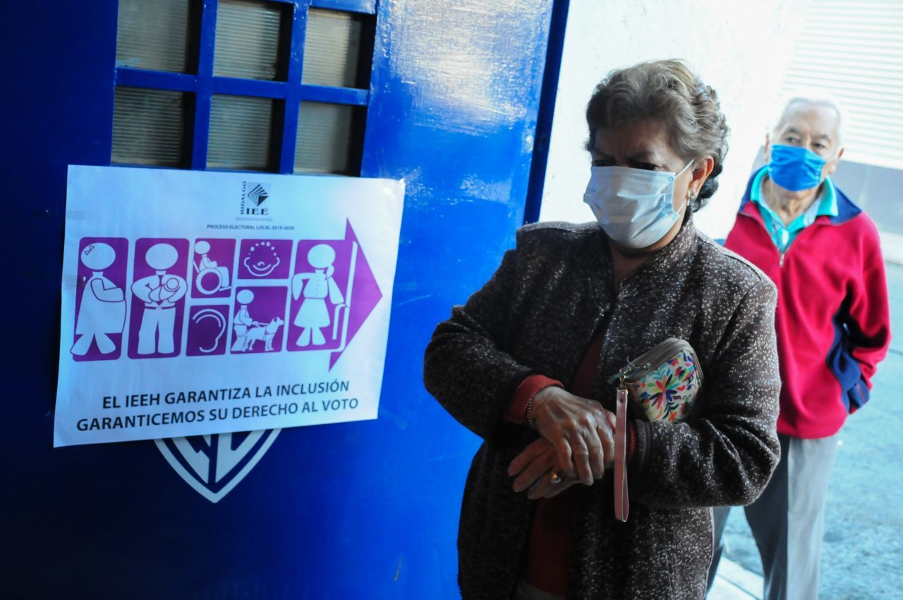 Apertura de casillas en Pachuca, Hidalgo