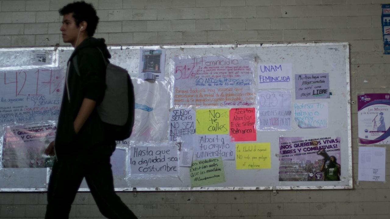 expulsan alumno violencia de género Facultad de Química UNAM