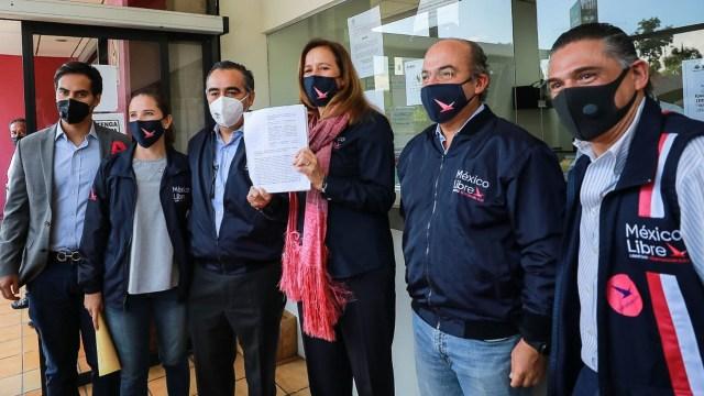 """Felipe Calderón, expresidente de México dice que es """"injusto"""" el proyecto del (TEPJF) que pide negar registro a México Libre"""