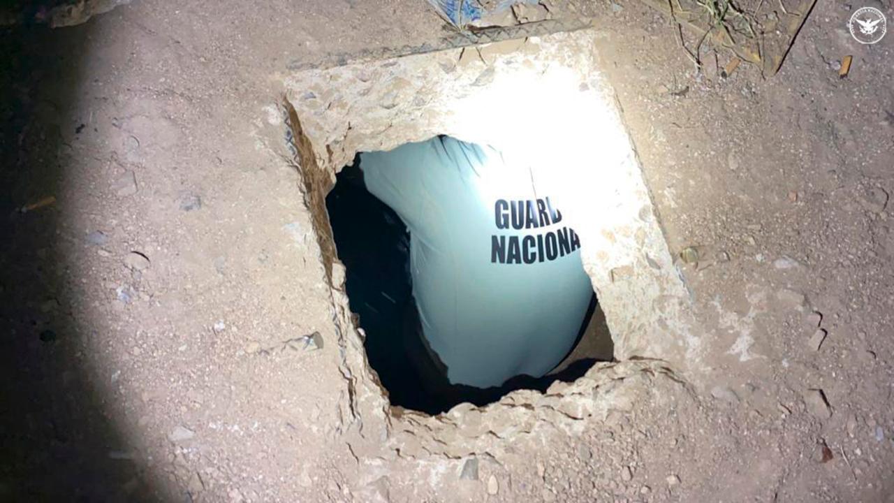 guardia nacional encuentra túnel conecta Nogales Estados Unidos