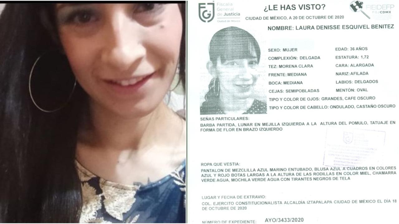 Laura Denisse desapareció después ir a hospital golpeada en asalto