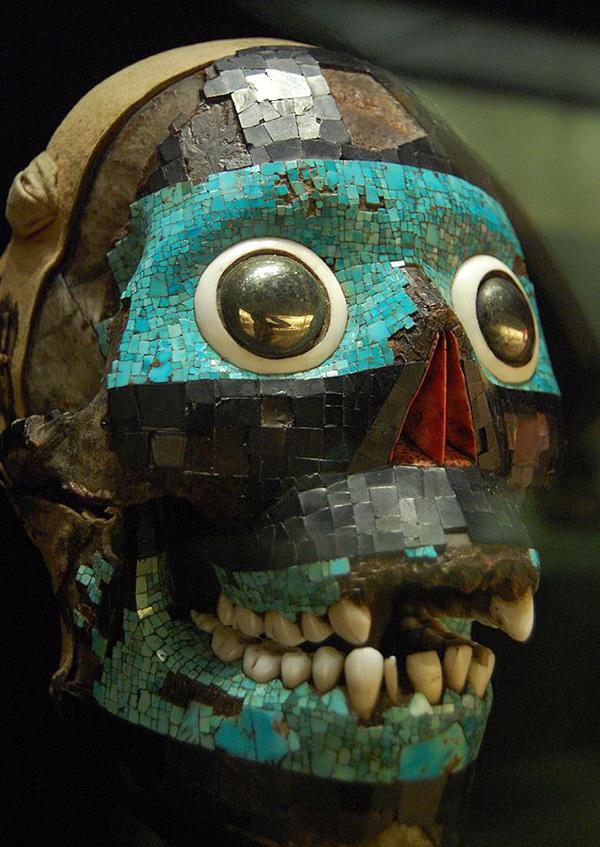 Mascara de Tezcaltipoca