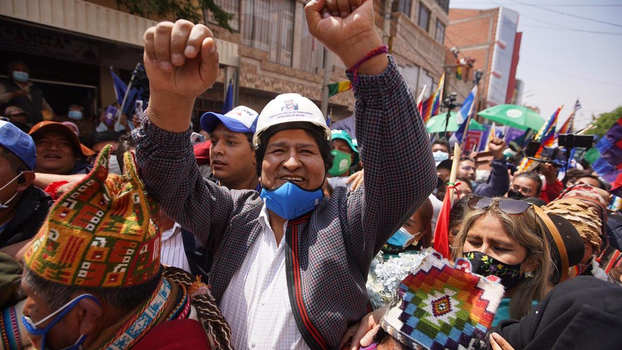 Evo Morales regresa Bolivia