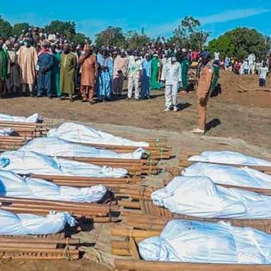 Matan agricultores en Nigeria