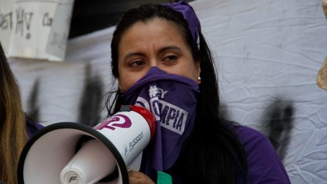 Olimpia Coral Melo víctima pack impulsora Ley Olimpia
