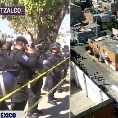 Confirman dos lesionados por explosión de gas en Azcapotzalco [Video]