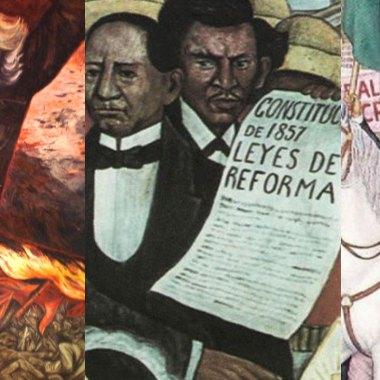 La revolución mexicana no es la única que habido en la historia de México. Estas son las tres revoluciones de México
