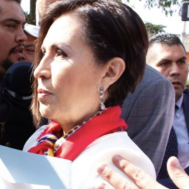 Rosario Robles, quien se encuentra encarcelada, declarará ante la Fiscalía General de la República (FGR) sobre la Estafa Maestra