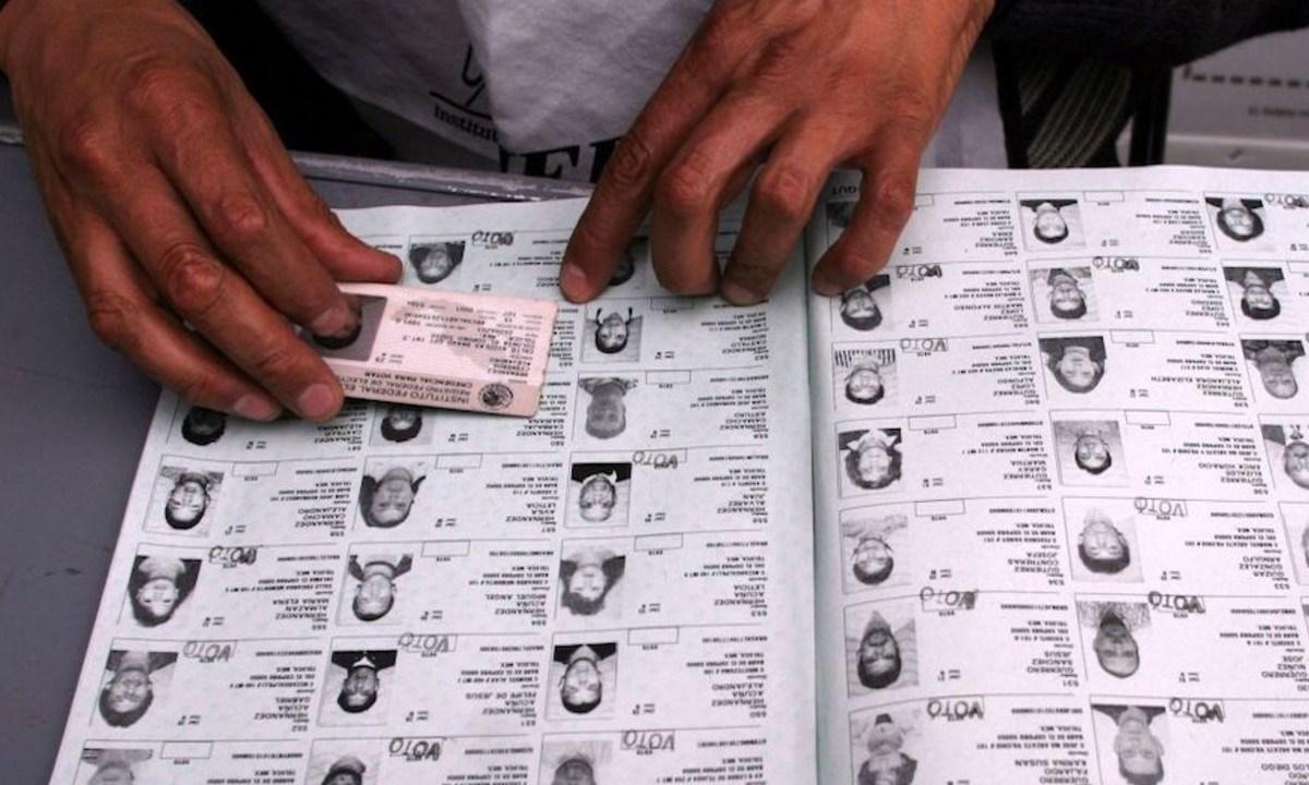 INE multaría al PRI por vender padrón electoral