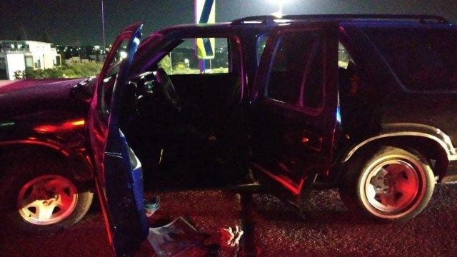 ¡Como de Rápido y Furioso! Captan persecución en sentido contrario de vehículo robado en Querétaro