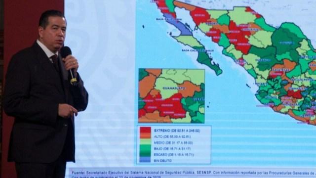 Los 15 municipios con más homicidios en México