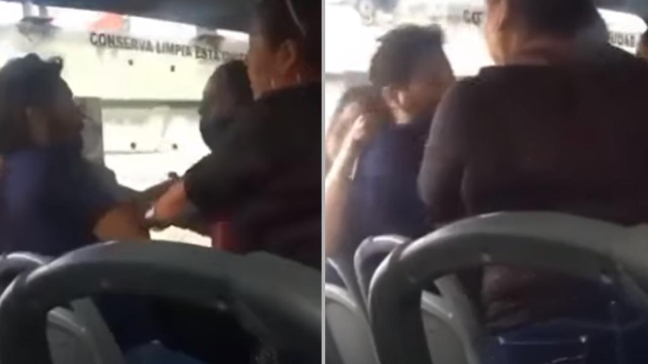 suegra esposa golpean hombre novia transporte público Coahuila
