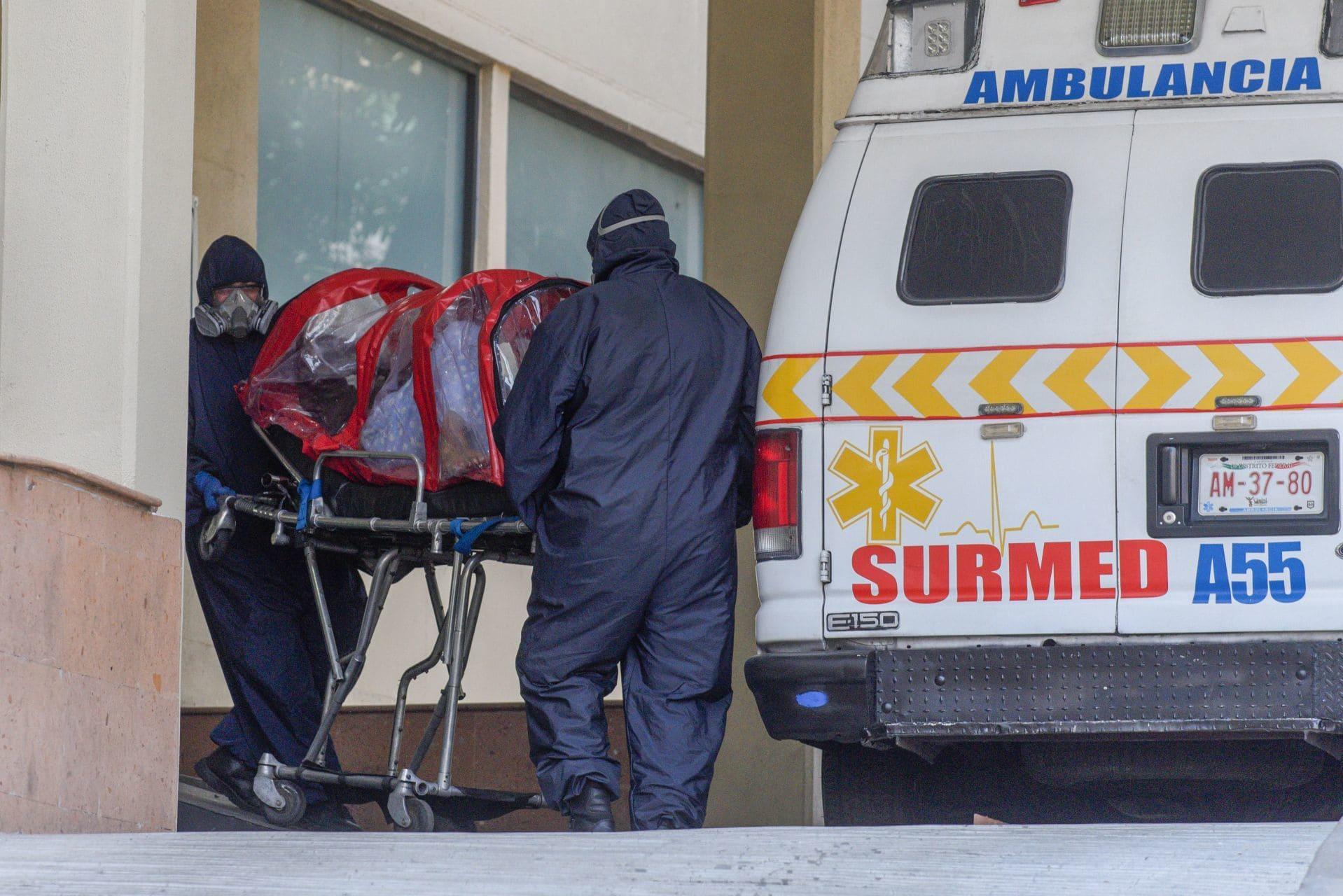 Paciente con COVID-19 ingresa al Hospital General en la CDMX