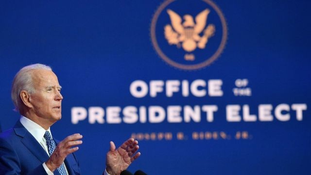 Primer mensaje Joe Biden presidente electo