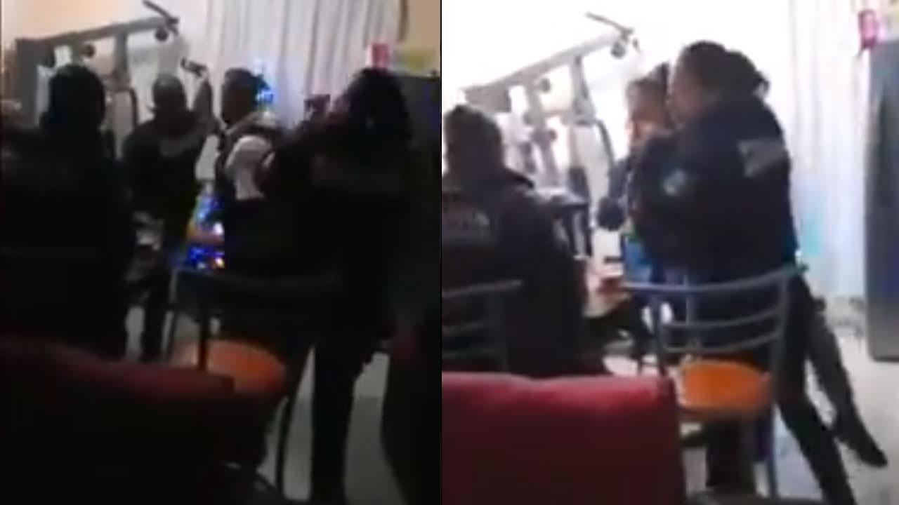 En redes sociales circula un video en el que se aprecia a policía de Morelia bebiendo, bailando y disparando sin respetar medidas COVID-19
