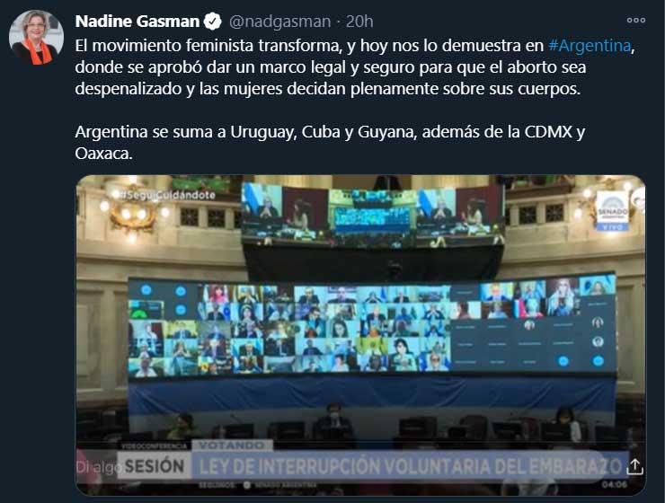Tras la legalización del aborto en Argentina, feministas de México buscan seguir el ejemplo del país sudamericano