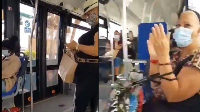 """""""¡Que se levante la negra!"""", espetó una mujer en contra de otra pasajera afrodescendiente. Video muestra en ataque racista en España"""
