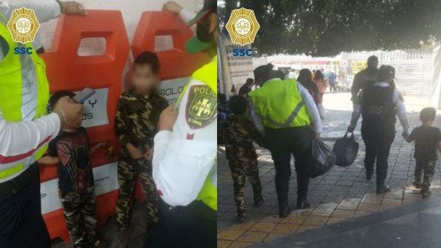 Una pareja de hermanitos escapó de su casa por problemas con su padre y al tratar de ir con su abuela deambularon por el Metro CDMX