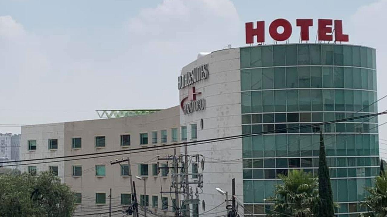 """Una joven lanzada desde un hotel en Naucalpan es reportada como grave; el hombre que acompañaba a """"Odet"""" se dio a la fuga"""