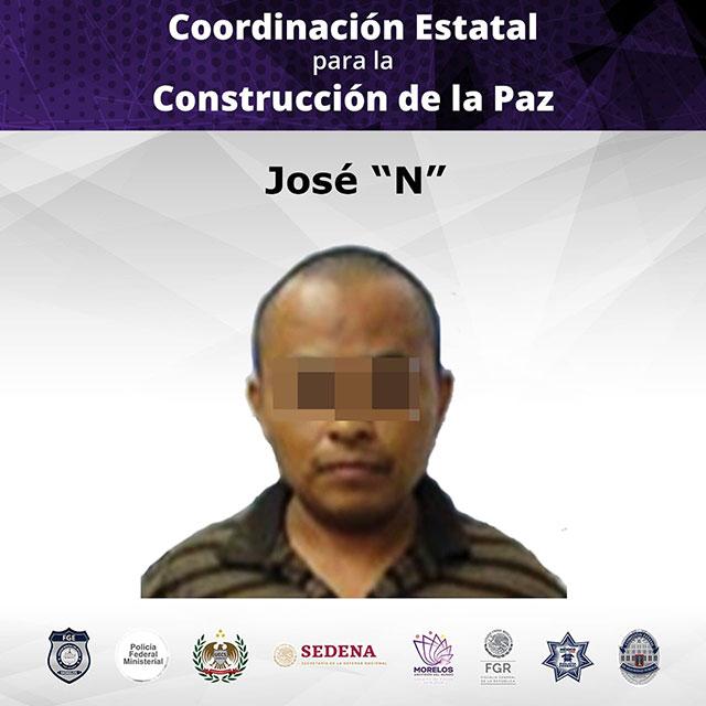 José 'N' cometió abuso sexual infantil en prejuicio de sus dos hijas de siete y ocho años de edad en Morelos