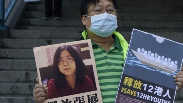 Castigan con cárcel periodista que reportó el primer brote de Covid en Wuhan