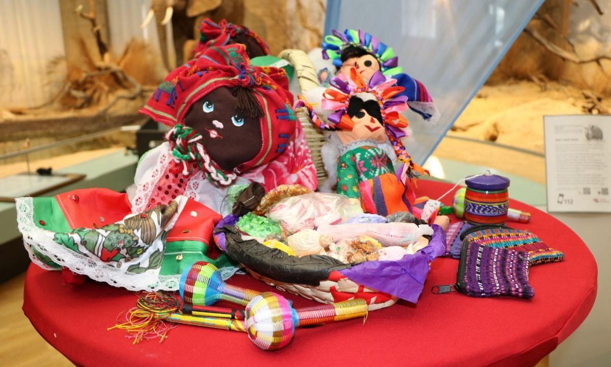 Encuentran 26 reptiles traficados dentro de muñecas mexicanas