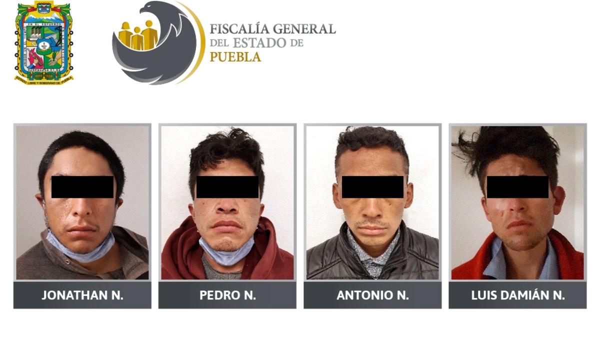Puebla: Vinculan a proceso a 4 por el secuestro de un taxista