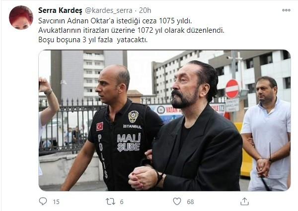 Adnan Oktar mil años de cárcel