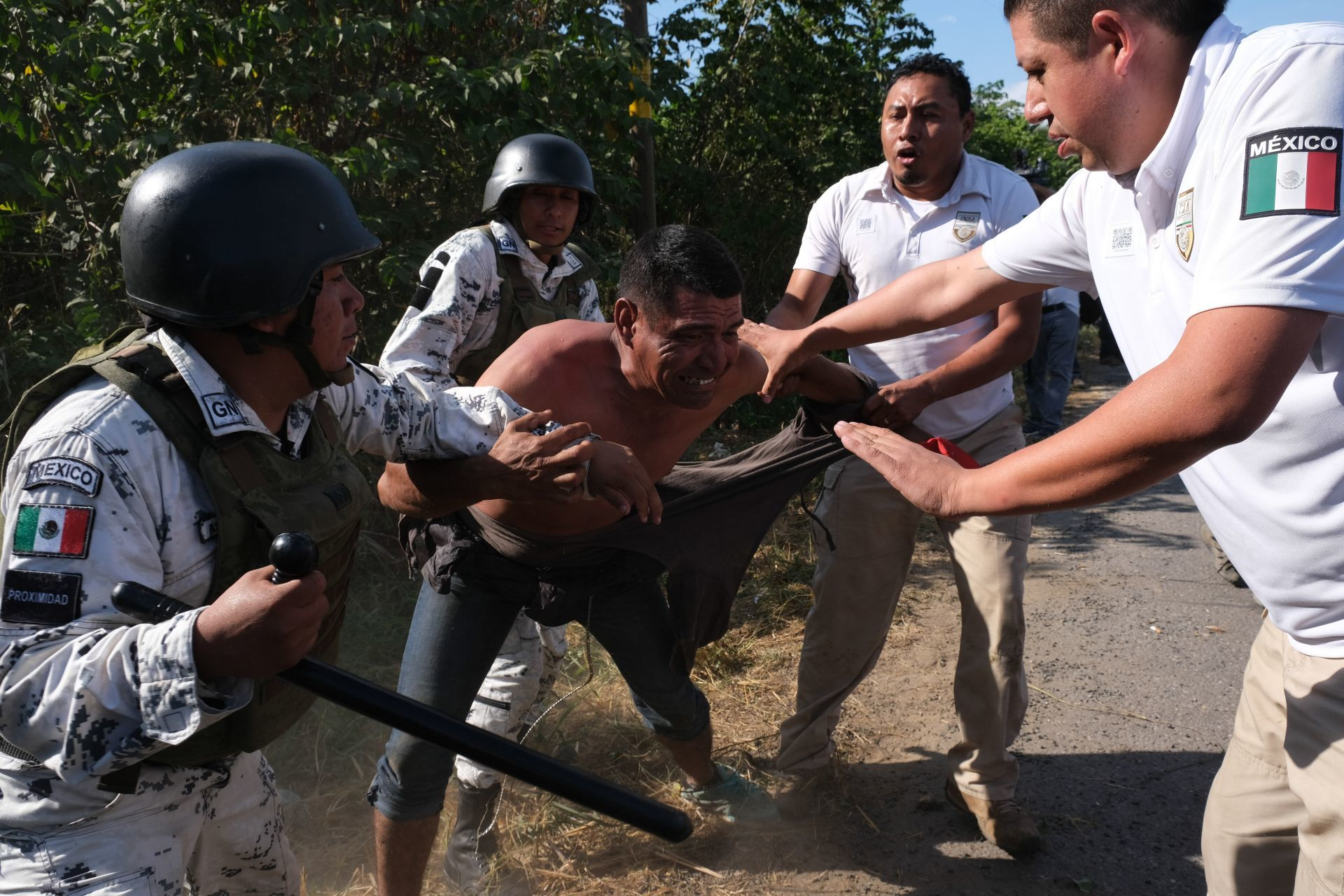 En México, la Guardia Nacional ha sido empleada para detener migrantes de Centroamérica