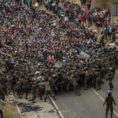 Caravana migrante Guatemala México